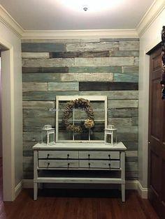 Wood Pallet Wall Art Idea Decor Ideas Pallet Wall Art, Home … - Pallet Furniture Project Decor, Pallet Furniture, Wood Pallet Wall Art, Home Decor Items, Pallet Decor, New Homes, Wood Pallet Wall, Wood Wall Design, Home Decor