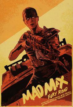 mad max fury road minimalist poster에 대한 이미지 검색결과