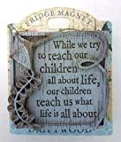 Driftwood Magnets-While we Try Teach Our Children… - Driftwood 4 Us Driftwood Kitchen, What Is Life About, Magnets, First Love, Resin, Pastel, Carving, Teaching, Feelings