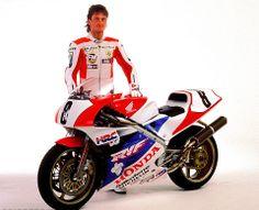 Carl Fogarty - Honda RVF RC45 1991