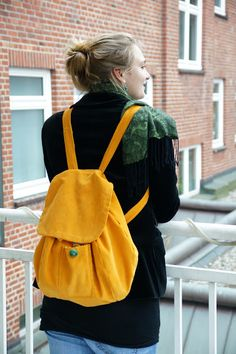 See and be seen: Retro backpack tutorial