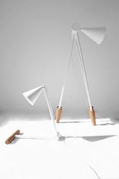 "thedesignwalker: "" Foldy Lamp / Ia Kutateladze: Lamps Design, Foldi Lamps, Lights Design, Ia Kutateladz, Fun Design, Floors Lamps, Kutateladz Design, Foldi Tables, Lamps Families """