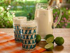 Coconut Ice Tea from Coconut Ice Tea | Recipe courtesy Bobby Flay Read more at: FoodNetwork.com