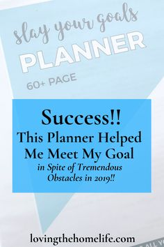 I stayed focused and achieved my goal in spite of dealing with many obstacles thrown at me in 2019. The Slay Your Goals Planner helped. Video included. #goals #2020goals #2020resolutions #achievegoals #planner #printableplanner #digitalplanner Achieving Goals, Achieve Your Goals, Printable Planner, Printables, Graphic Design Company, E Commerce Business, Soul Searching, Goals Planner, Life Plan