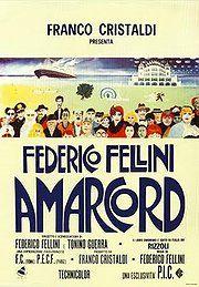Amarcord movie. Won Oscar for Best Foreign Film 1974. Set in Italian village