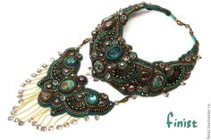 "Buy Necklace ""Semiramide"" - necklaces, necklaces of beads, beads, Jewelry, an author's work, Beadwork"