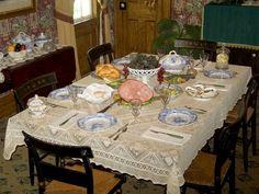 grandma table setting