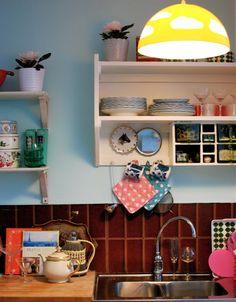 granny chic style kitchen
