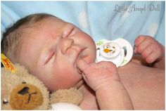 Little Angel Doll ~ PROTOTYPE *Julien* by Elisa Marx | eBay OMG!! unbelievably real <3