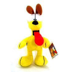 13 Inch Tall Odie Plush - Garfield and Friends Stuffed Characters by Hitachi, http://www.amazon.com/dp/B00BC5CDH0/ref=cm_sw_r_pi_dp_yE.Srb1H3BFNH