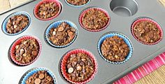 Individual Chocolate Baked Oatmeal: Gluten & Dairy Free
