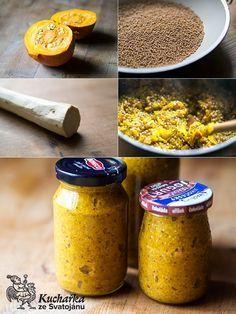 Kuchařka ze Svatojánu: HOŘČICE Korn, Pesto, Smoothie, Canning, Ethnic Recipes, Fit, Shake, Smoothies, Conservation