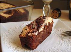 Gluten Free Irish Cream Cheesecake Brownies - Foodista.com