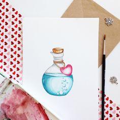 Bottle #art #открытка #sketch #picture #рисуюкаждыйдень #drawing #artist #illustration #love #подарок #акварель #художник #иллюстрация #ручнаяработа #дизайн #скетч #handmade #рисунок #watercolor #брошь #любовь