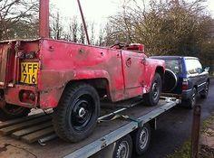 eBay: 1963 Austin Gipsy for restoration, petrol swb, Barn Find West yorkshire