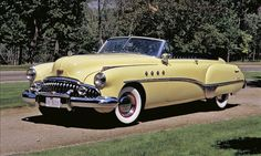1949 - 1953 Buick Roadmaster. The Roadmaster set the course for the power-everything luxury features we take for granted today.
