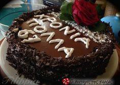 Τούρτα Νηστίσιμη Σοκολάτα-Καρύδα Vegan Recipes, Cooking, Cake, Desserts, Lent, Foods, Cucina, Pie Cake, Tailgate Desserts