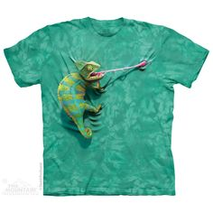 The Mountain Climbing Chameleon T-Shirt