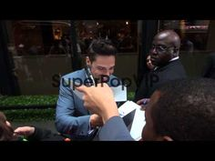 Jay Ryan at the 2013 CW Upfront Presentation in New York,... - YouTube