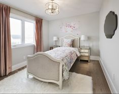This is a secondary bedroom in the Gala townhome in Findlay Creek. Decor, Furniture, Bed, Home, Townhouse, Bedroom, Home Decor, Model Homes