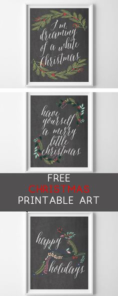 Christmas Craft Projects, Christmas Wall Art, Christmas Holidays, Christmas Decorations, Diy Projects, Christmas 2017, Free Printable Stickers, Free Printables, Printable Labels
