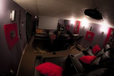 Home theater ideas...can't wait to get mine set-up!