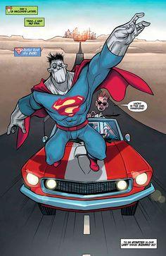 Confira o preview de Bizarro, de Gustavo Duarte, e outras nove revistas da DC Comics - UNIVERSO HQ