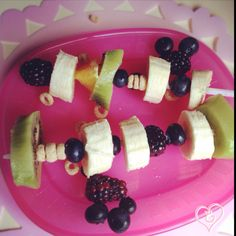 Breakfast Fruit Kabobs