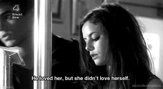 depressed sad lonely quotes television skins effy Skins UK life ...