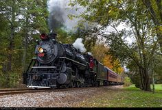 RailPictures.Net Photo: SOU 4501 Southern Railway Steam 2-8-2 at Lafayette , Georgia by Justin Calvin