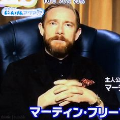 """Freebeard in Asia. all that's missing is an evil kitty and he could be the next Bond villain. """"Come, come Mr. Bond...."""" Wouldn't you agree, @antzinmypantz"""