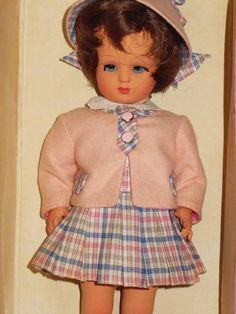 VINTAGE ITALY FURGA DOLL ALESSIA ALL ORIGINAL IN BOX 11