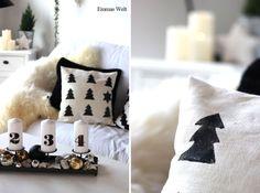 Weihnachtskissen DIY by Emmas Welt