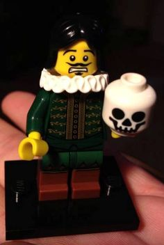 Hamlet LEGO. Wouldn't your students love this?
