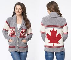 Image result for knit canada sweater