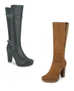 4e5b9226b35 Botas Altas Cklass. Botas de moda para mujer, botas tacon cuadrado, botas  con