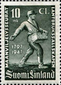 1947 Ekholm Finland Old Stamps, 12th Century, Stamp Collecting, Postage Stamps, Nursing, Vintage, World, Stamps, Finland
