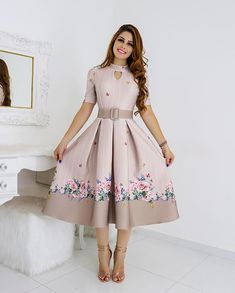 ✔ Gift For Boyfriend Videos Sentimental Cute Formal Dresses, Stylish Dresses For Girls, Prom Dresses Long With Sleeves, Simple Dresses, Elegant Dresses, Casual Dresses, Short Sleeves, Long Dress Fashion, Frock Fashion