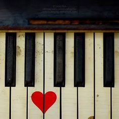 The piano is a tangible musical instrument. If you have the heart of a musician, you have to learn to play piano. You can learn to play piano through software and that's just what many busy individuals do nowadays. The piano can b Le Piano, Piano Keys, Piano Music, Piano Man, Music Music, Piano Girl, I Love Heart, Key To My Heart, My Love