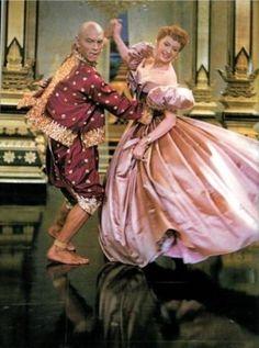 That dress can dance! Deborah Kerr & Yul Brynner.