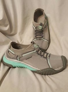 Jambu women's shoes size 7 M Bianca trail ready shoes sneakers turquoise gray | Clothing, Shoes & Accessories, Women's Shoes, Athletic | eBay!