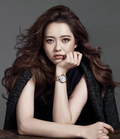 Go Ara - High Cut Magazine Vol.132 - soft brown makeup look