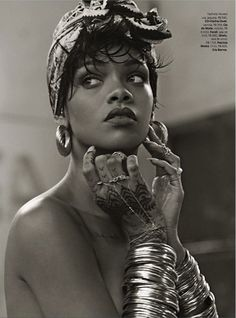 Rihanna in Vogue Brazil 2014
