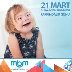 Down Sendromu, tedavi edilmesi gereken bir hastalık değil, farklılıktır. Dünya farklılıklarla güzel...  #21Mart #DünyaDownSendromuFarkındalıkGünü #DownSendromu #farkındayız