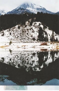 beauty // nature // winter // utah mountains // lake // photography