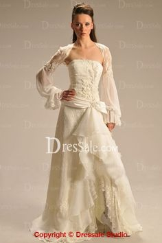 New Bohemian Style Wedding Gown in 2013