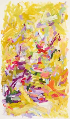 Love this painting!! Bright and cheery yellows - make me #Spring ready!  Yolanda Sanchez Don't Forget to Breathe, 2010 oil on canvas 60 x 36 inches $8,500  #Art