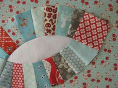 Double Wedding Ring Paper Piecing Templates - free
