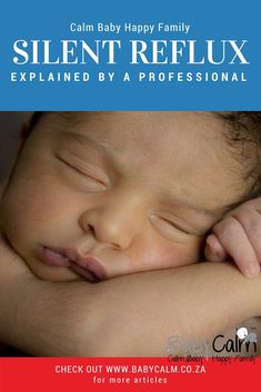 The name silent reflux is a little misleading because it isn't really silent. Gentle Parenting, Parenting Quotes, Kids And Parenting, Parenting Hacks, Silent Reflux, Baby Calm, Gentle Baby, Boy Quotes