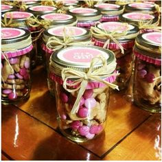 It's a girl baby shower favor